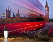 London - The Bus Lane mural wallpaper kitchen preview