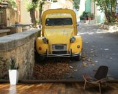2CV Van mural wallpaper kitchen preview