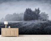 Misty Morning wallpaper mural living room preview