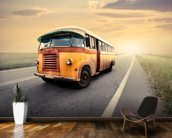 Old Bus wall mural kitchen preview
