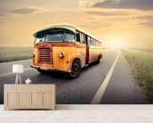 Old Bus wall mural living room preview