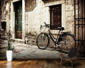 Bicycle mural wallpaper kitchen preview