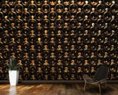 Wine Bottle Wall wall mural kitchen preview