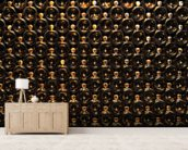 Wine Bottle Wall wall mural living room preview