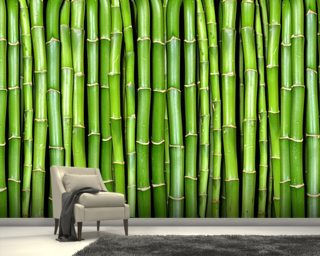 Surface texture wallpaper brick stone log wallpaper for Bamboo mural wallpaper
