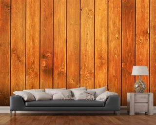Wood Texture Golden Finish wall mural