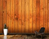 Wood Texture Golden Finish wall mural kitchen preview