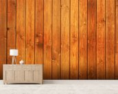 Wood Texture Golden Finish wall mural living room preview