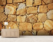 Sandstone Wall wall mural living room preview