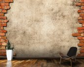 Brick Wall Frame mural wallpaper kitchen preview