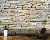 Stone Wall - Grey wallpaper mural kitchen preview