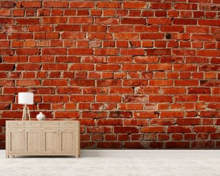 Red Brick Wallpaper Wall Murals