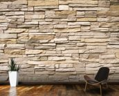 Stacked Stone Wall wall mural kitchen preview