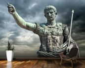 Statue of Caeser, Rome wall mural kitchen preview