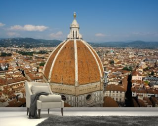 Florence Skyline Mural Wallpaper Wall Murals Wallpaper