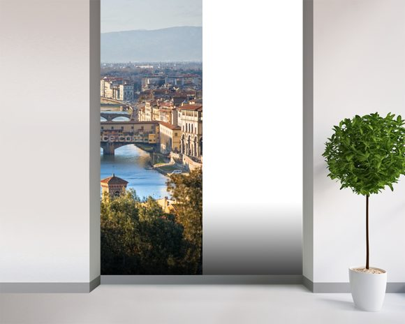 Ponte Vecchio, Florence mural wallpaper room setting