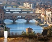 Ponte Vecchio, Florence mural wallpaper kitchen preview