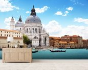 Basilica Santa Maria della Salute wallpaper mural living room preview