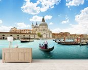 Grand Canal Gondola wall mural living room preview