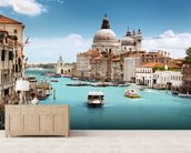 The Grand Canal, Venice wallpaper mural living room preview