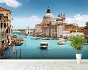 The Grand Canal, Venice wallpaper mural in-room view