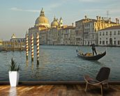 Grand Canal Gondola mural wallpaper kitchen preview