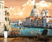 Venice Skies mural wallpaper kitchen preview