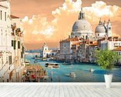 Venice Skies mural wallpaper in-room view