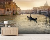 Venice Gondolier wall mural living room preview