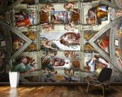 Rome's Sistine Chapel mural wallpaper kitchen preview