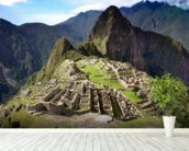 Machu Picchu wall mural in-room view