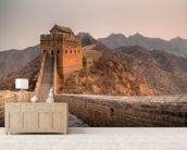 Great Wall of China wallpaper mural living room preview