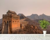 Great Wall of China wallpaper mural in-room view