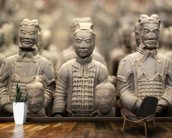Terracotta Army wall mural kitchen preview