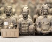Terracotta Army wall mural living room preview