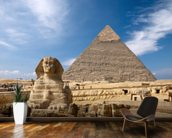 Great Pyramid at Giza wall mural kitchen preview
