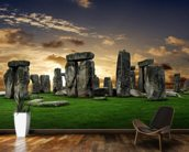 Stonehenge Sunrise wall mural kitchen preview