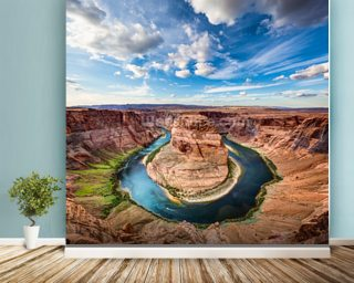 Horseshoe Grand Canyon wall mural