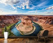 Horseshoe Grand Canyon wall mural kitchen preview
