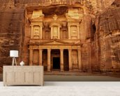 Petra, Jordan wall mural living room preview