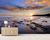 Dorset Coast wall mural living room preview