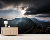 Five Finger Mountains wallpaper mural living room preview