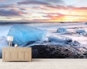 Ice Beach wall mural living room preview