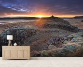 Northern Sunrise wall mural living room preview