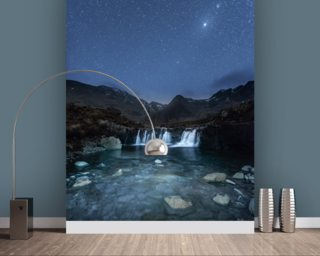 The Fairy Pools Wallpaper Wall Murals