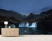The Fairy Pools wall mural living room preview