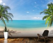 Tropical Beach Panoramic Wall Mural Kitchen Preview Part 73