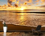 Beach Sunset wallpaper mural kitchen preview