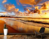 Stunning Sunset Sky wall mural kitchen preview