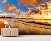 Stunning Sunset Sky wall mural living room preview
